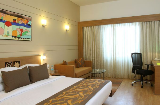 Deluxe Room at Hotel in Bangalore, Electronic City
